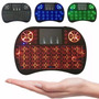 Mini Teclado Wireless Touch Pad Pc Android Tv Smart Com Led