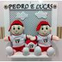 Enfeite Porta De Maternidade Gêmeos Times De Futebol