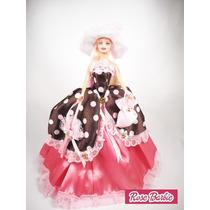 Roupas Da Barbie, Lindos Vestidos Para Boneca Barbie 1un