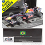 1/18 Red Bull Rb6 Vettel Gp Brasil Interlagos F1 2010