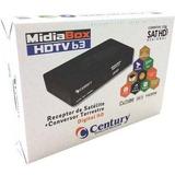 Receptor Digital E Conversor  Midiabox B3 Century Midia Box