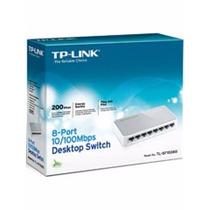 Hub Switch Mesa 8 Portas De 10/100mbps Tp-link Tl-sf 1008d