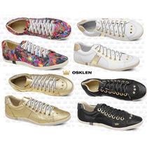 Tenis Sapatenis Osklen Femininos 100%original Varios Modelos