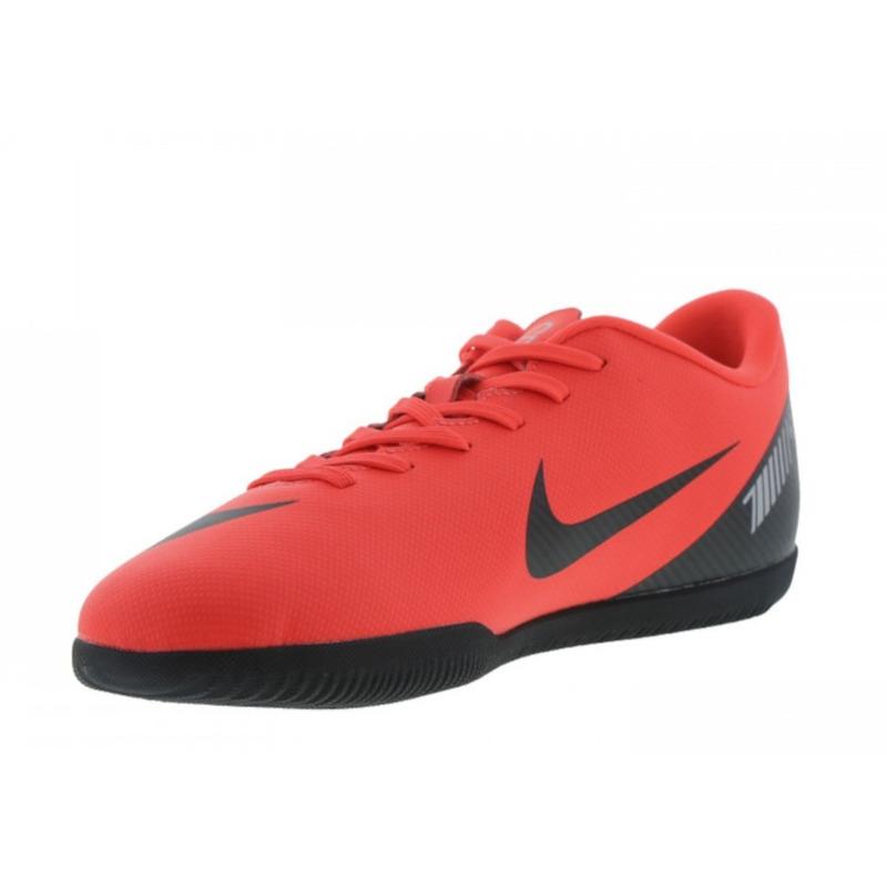 94e56aadec99b Tenis Futsal Nike Vapor 12 Club Cr7 - Coral/preto em Conselheiro ...