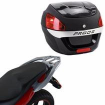 Suporte Bagageiro Scam + Bau Bauleto Proos 29l Honda Cb300r