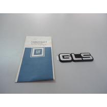 Emblema Gls Tampa Traseira Monza/kadett Original Gm 93223483