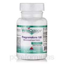 Pregnenolona 100 Mg Micronizada Lipid Matrix - 60 Marcados T