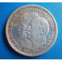 Alemanha-moeda Prata-anhalt-bodas Prata-3 Mark-1914