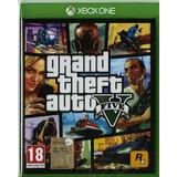 Gta Grand Theft Auto V Xbox One Mídia Física Nacional