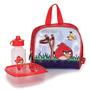 Lancheira Infantil Angry Birds - Vermelho