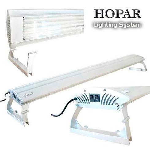 Luminária Hopar 4 Lampadas T5 X 39w 100cm