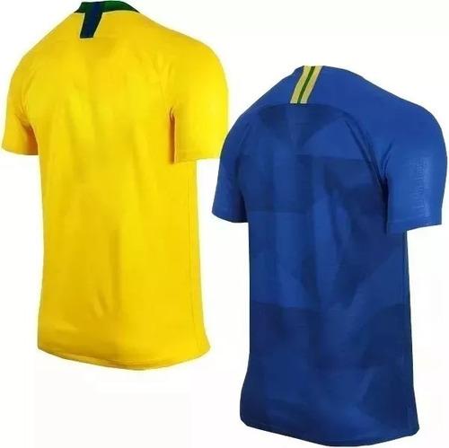 Kit 2 Camisa Polo Brasil Brasileira Passeio-treino Frete Grt. Preço  R  139  9 Veja MercadoLibre 643783e148eb5
