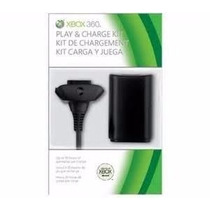 Bateria Recarregável P/ Controle Xbox 360 Com Cabo