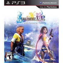 Jogo Ps3 Final Fantasy X X2 Hd Midia Fisica