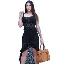 44155342e1 Femininas Saias Babado Saias Longas com os melhores preços do Brasil ...