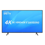 Smart Tv Samsung Led 40  Uhd 4k Un40nu7100gxzd Visual Livre