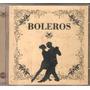 Cd Boleros -com Perla, Los Cristales, Romanticos De Acapulco