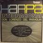 Lp / Vinil Clássico: D. Lorenzo Paraguai Harpa Internacional