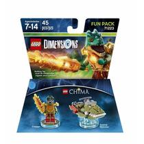 Novo Lacrado Lego Dimensions Chima Cragger Fun Pack