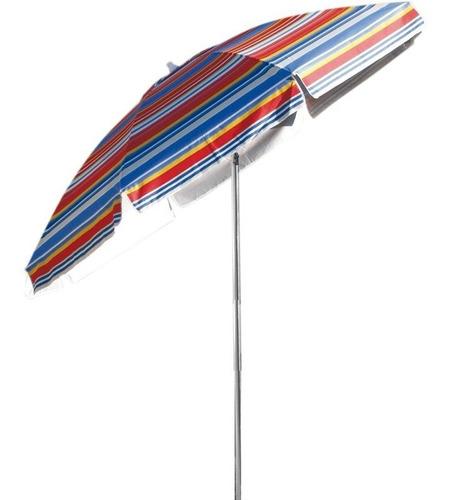Guarda Sol Poliéster Rainbow 2,40m Fps 60 Alumínio Belfix