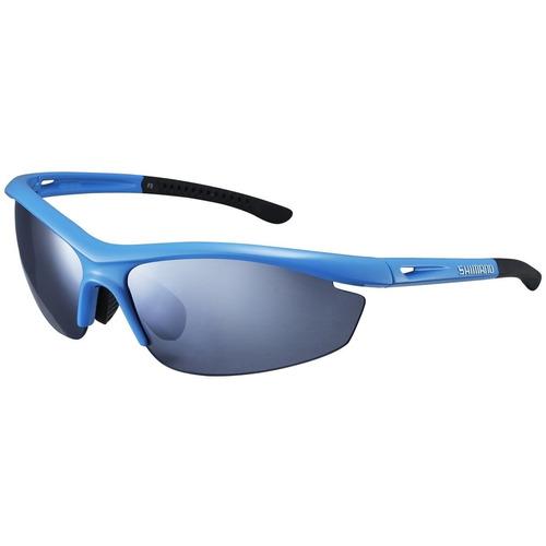 b7eea4697cf89 Óculos Shimano Ce-s20r Azul Com Preto 2 Lentes