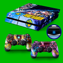 Skin Playstation 4 Capa Ps4 Adesivo Borderlands The Pre-sequ