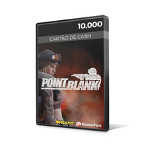 Point Blank Ongame - Cartão De 10.000 Cash - Envio Imediato!