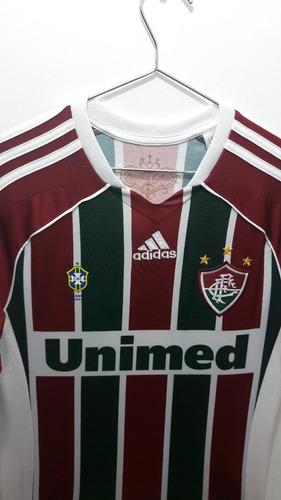 fb602f60b0 Camisa Infantil adidas Fluminense 2011 Nova E Oficial. R  100