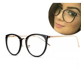 e0b242810 Oculos De Grau Feminino Armação Em Acetato Geek Vintage Gato