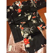Kimono Japonês Para Bebês 12-24 Meses