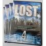 Dvd Box - Lost - 4 Temporada Completa (5 Discos) Original