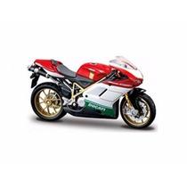 Miniatura De Moto Ducati 1098s 1:18 Maisto