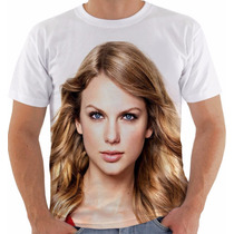 Camisa Camiseta Baby Look Regata Taylor Swift