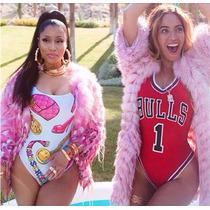 Maiô Body Moda Feminina Beyoncé Roupas Femininas