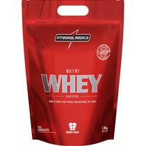 Nutri Whey Protein - Integralmédica (1,8kg) (chocolate)