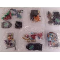 Digimon Gashapon 6 Miniaturas Bandai - Rarissimo!!