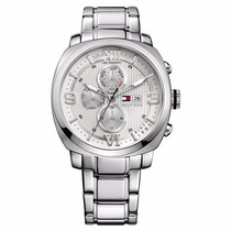 Relógio Tommy Hilfiger Masculino Prata Original - Novo