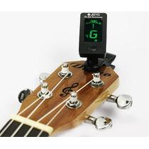 Afinador Digital Cromático Guitarra Violão Baixo Violino