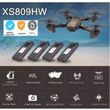 Drone Visuo Xs809hw Versão Top Camera2.0 Hd 4 Baterias C/nfe