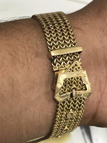 17b6a0373c7 Pulseira Para Relógio Em Ouro 18k-750