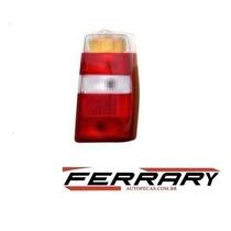 Lente Lanterna Traseira Fiorino 04/09 Tricolor