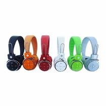 Fone De Ouvido Bluetooth Mp3 Radio Fm Cartão De Memoria B 05