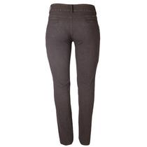 Calça Jeans Veludo Marrom Fem Cós Alto Tamanho 52 Ref 1503