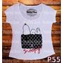 Blusa Tshirt Snoopy Bolsa Chanel Look Moda Luxo Flame
