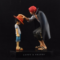 Boneco One Piece Luffy E Shanks One Piece Memories
