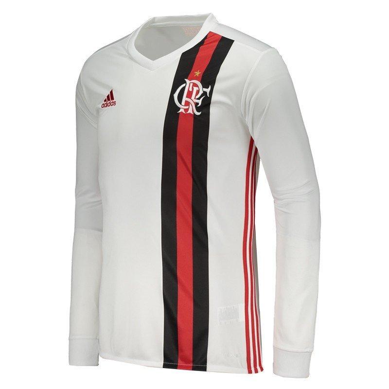 Camisa adidas Flamengo Ii 2017 Manga Longa em Congonhas - MG ... d8920f8e71d2f