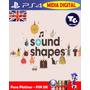 Sound Shapes + Dlcs - 01 Dia - Psn Uk (eur) - Platina Fácil