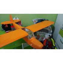 Planta Do Aeromodelo Piper J3,pronta Para Corte A Laser.