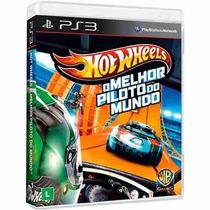Jogo Hot Wheels: O Melhor Piloto Do Mundo Ps3 Novo Lacrado !