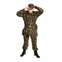 Farda Militar Camuflada Padrão Eb Ripstop - Frete Grátis